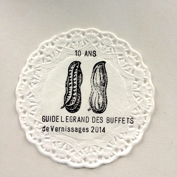 """Guide Legrand des Buffets de Vernissages 2014"" d'Auguste Legrand"